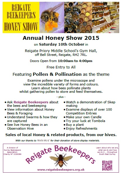 Honey Show poster